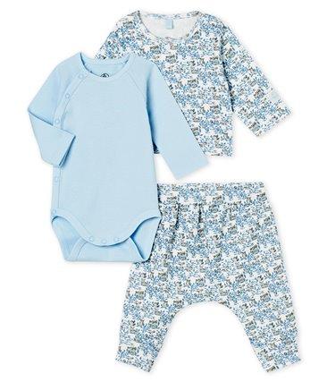 Zestaw odzieży niemowlęcej z bawełny organicznej