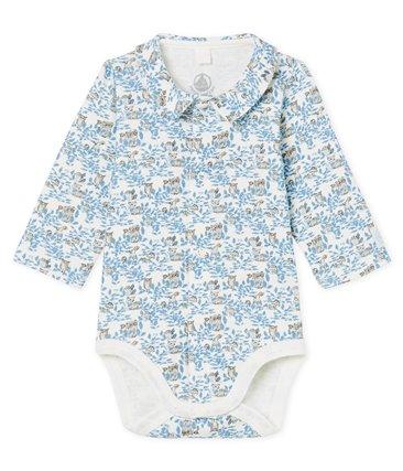 Body chłopięce niemowlęce z bawełny organicznej