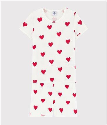 Bawełniana piżama dziewczęca